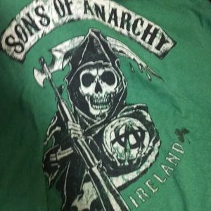 Sons of Anarchy road gear green/black green